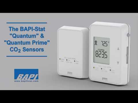 "BAPI-Stat ""Quantum"" and ""Quantum Prime"" CO2 Sensors"