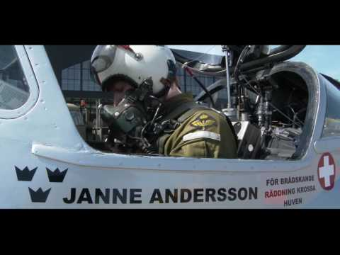 DeHavilland DH.115 Vampire and Jan Andersson - trailer.