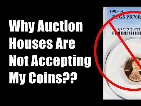 AUCTION HOUSES NOT TAKING CONSIGNMENTS ON MODERN COINS & US Mint Set Quality Comparisons