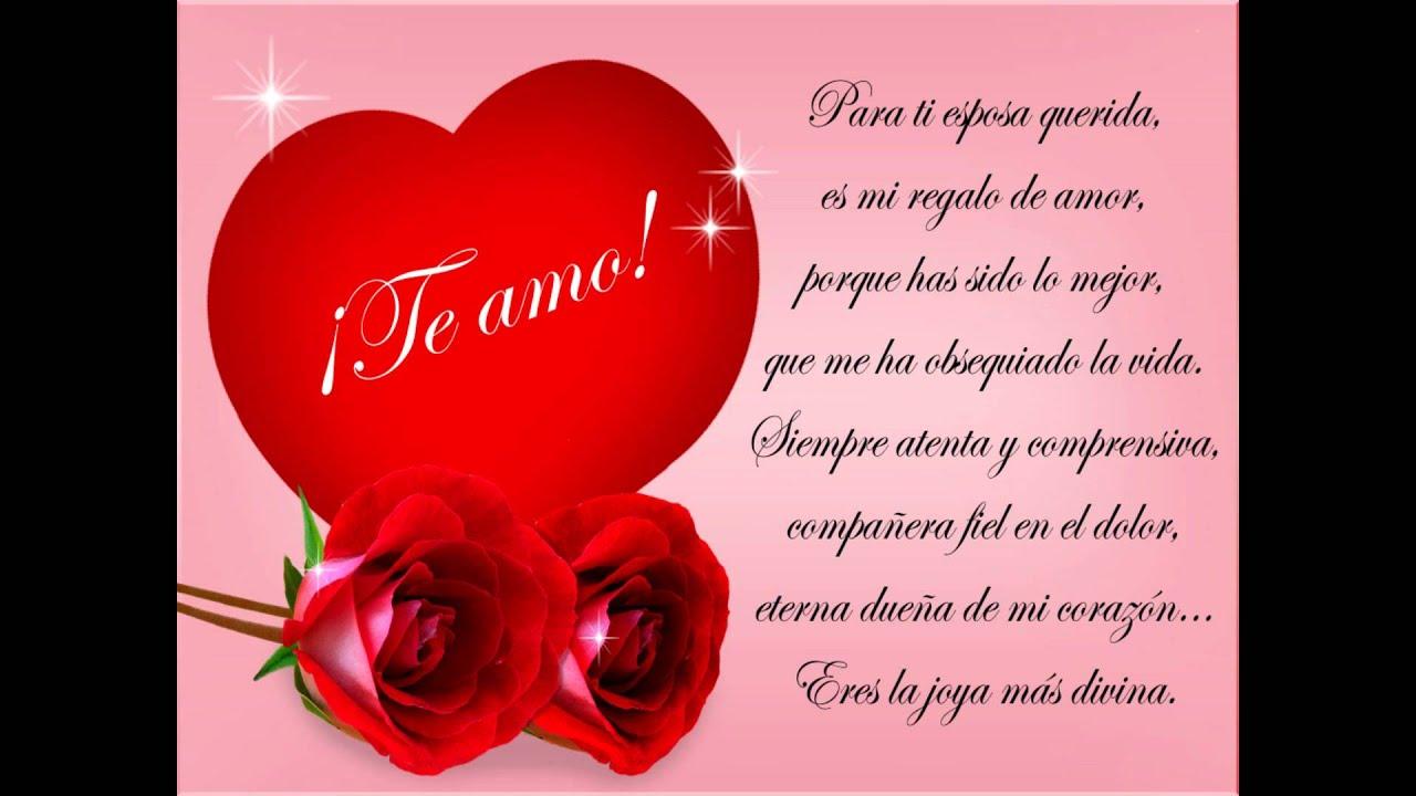Para Mi Esposa En El Dia Del Amor 14 De Febrero Youtube