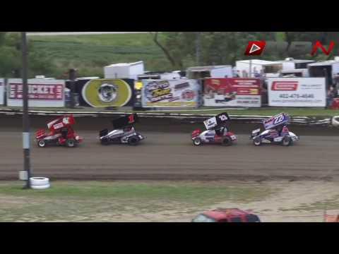 IMCA RaceSaver Sprint Nationals Eagle Raceway 9 4 16 HD