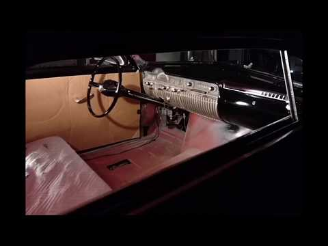 50 Mercury Dash And Steering Wheel Painted