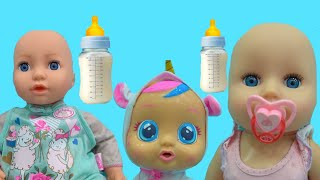 Anabella si 3 bebelusi | Video educativ pentru copii | Sketch