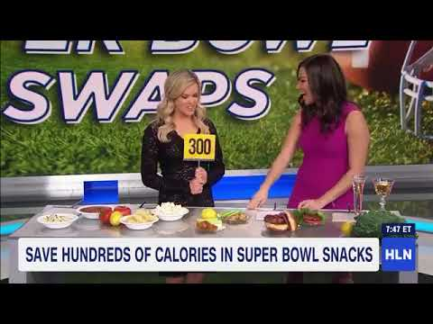 Healthy Super Bowl Swaps (As Seen on HLN)