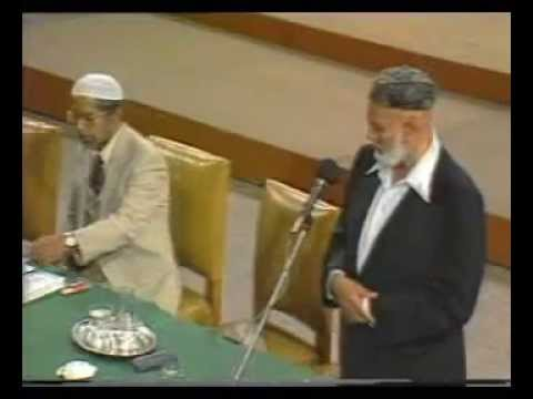 Crucifixion or Cruci-Fiction @ City Hall, Cape Town, South Africa -- By Sheikh Ahmed Deedat