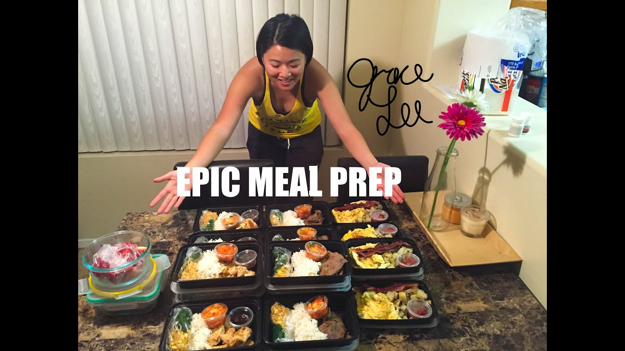 Epic meal prep for bodybuilding cutting youtube