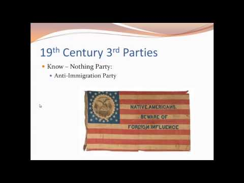 APUSH Review: Political Parties