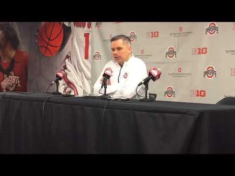 Ohio State basketball: Chris Holtmann previews Saturday's game vs. Iowa