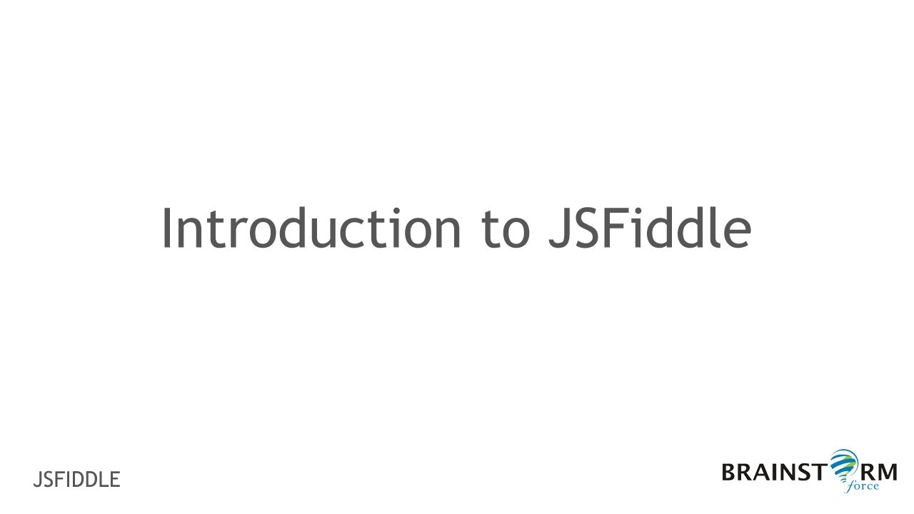 How to Use JSFiddle for easy Sharing Codes and Output