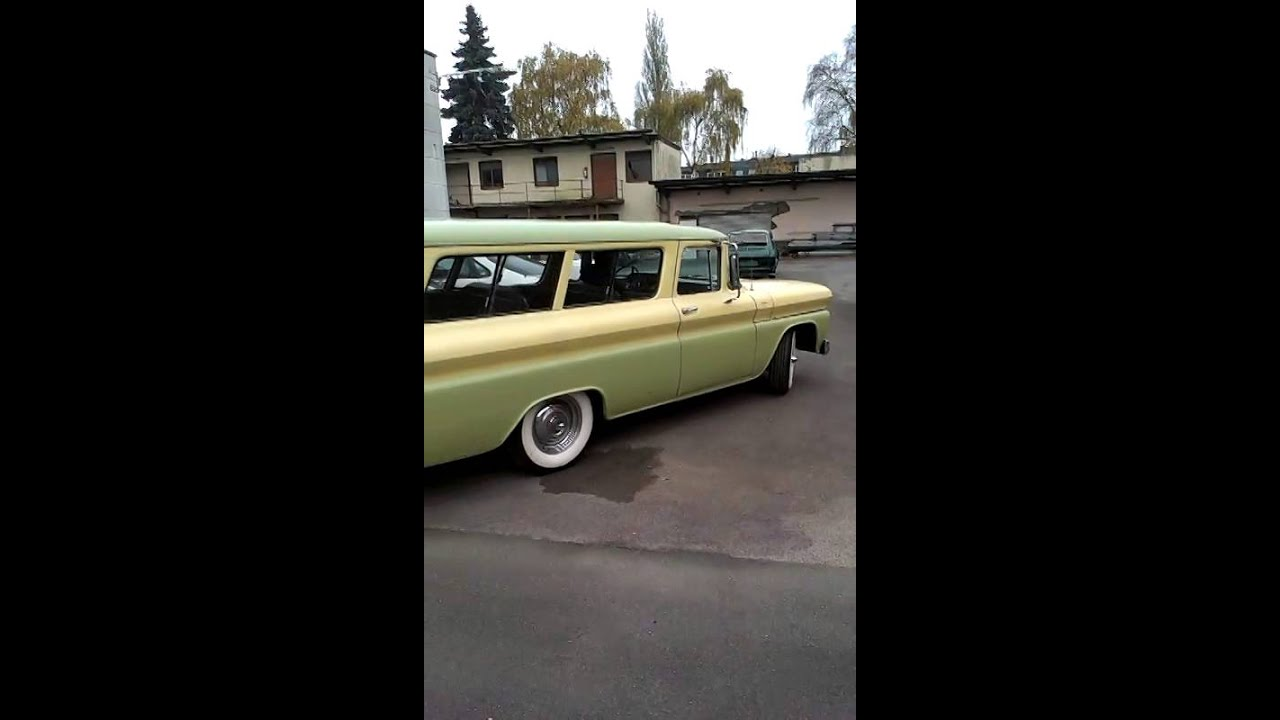 1960 Gmc Suburban Carryall Youtube