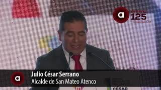 Rinde César Serrano Primer Informe de Resultados de San Mateo Atenco