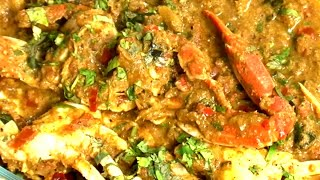 Crab Chettinad Masala - How to make Crab Chettinad Masala - Red Pix Good Life