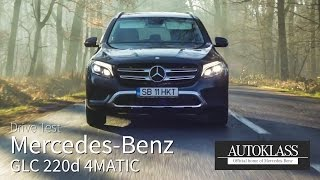 Mercedes-Benz GLC 220d 4MATIC 2016 / Test Drive