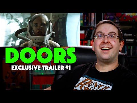 REACTION! Doors Exclusive Trailer #1 – Wilson Bethel Movie 2021