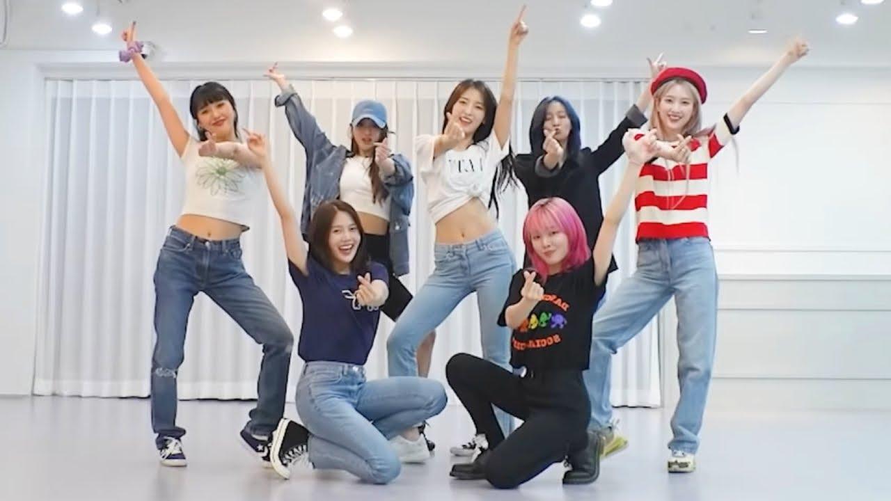 [MIRRORED] Oh My Girl (오마이걸) - 'Dun Dun Dance (던 던 댄스) Dance Practice (안무연습 거울모드)