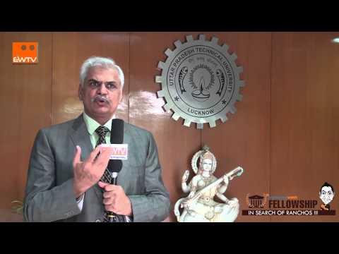 Prof R K Khandal, Vice Chancellor, Uptu, hindi Version