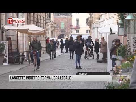 TG VICENZA (24/03/2018) - LANCETTE INDIETRO, TORNA L'ORA LEGALE