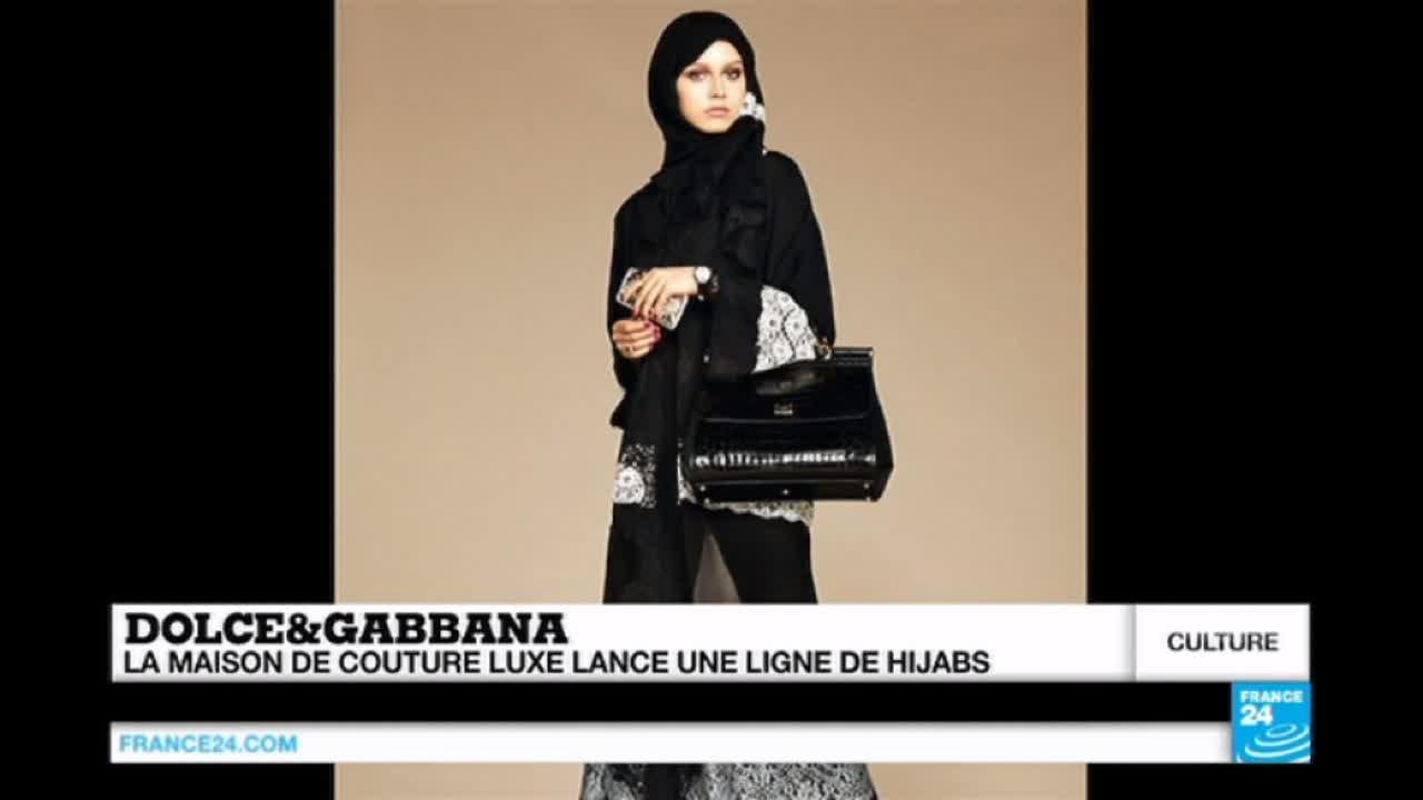 Dolce et Gabbana se lance dans la mode islamique avec une ligne de hijabs -  YouTube 4926e25559ee