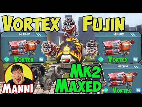 War Robots Mk2 Vortex Fujin - Shielded Spec Ops Gameplay - WR & Challenge Winners