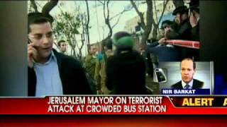Jerusalem Mayor on Terrorist Attack at Crowded Bus Station