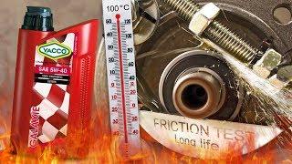 Yacco Galaxie 5W40 Jak skutecznie olej chroni silnik? 100°C