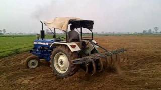 Farmtrac 60 with 13 tiller