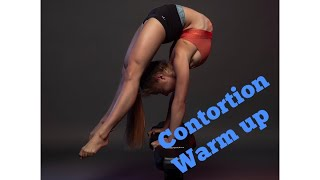 Handstand Contortion warm up, PHYSIQUE update Vlog 2