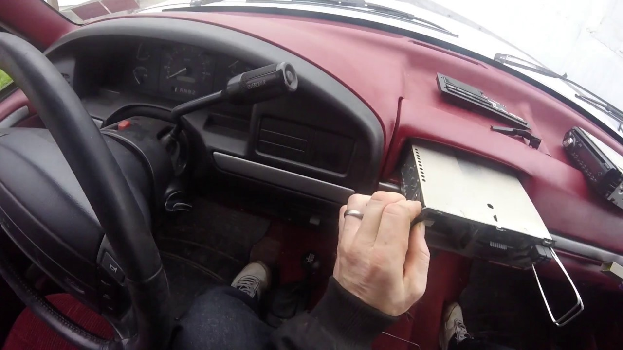 hight resolution of 94 f150 radio removal and replacement youtube 1996 f150 audio wiring