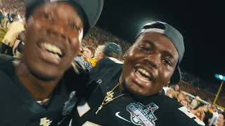UCF Football Back-To-Back Perfect Champions of the American (GoPro Celebration)