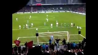RedBull Salzburg vs. Rapid Wien - 10.03.2012 - Elfmeter David Mendes da Silva