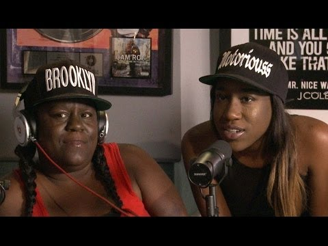 BIG's family Jan & T'yanna stop by Ebro in the Morning