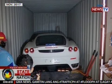 SONA: Smuggled luxury cars na nasabat ng Customs, pinawawasak ni Pres. Duterte