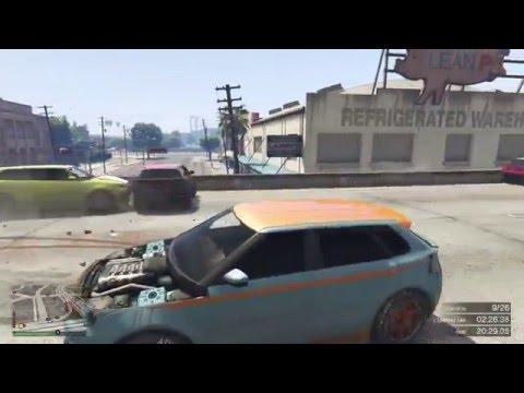 Flying Huntley S (GTA Online) [Clip]