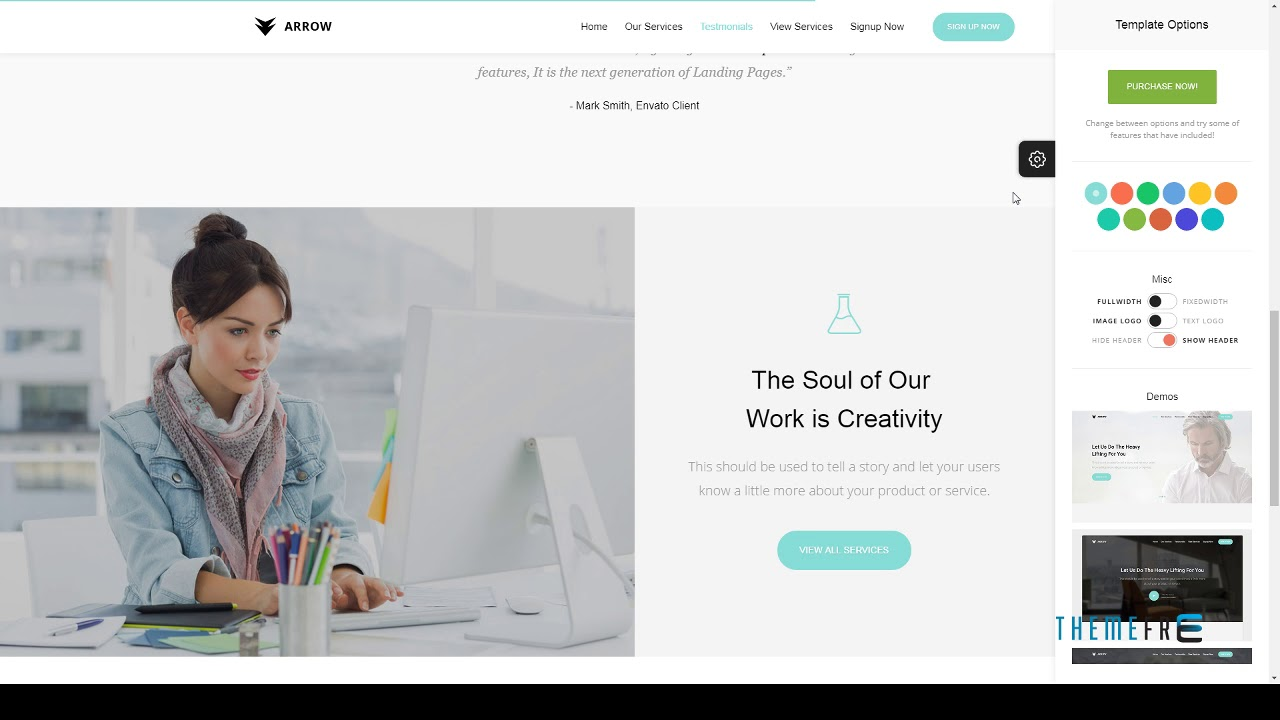 arrow lead generation landing page free template jerrard youtube. Black Bedroom Furniture Sets. Home Design Ideas