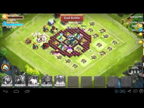 Raiding Guide For Castle Clash (No Troops)