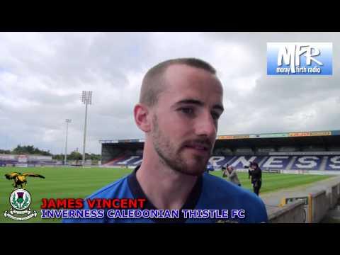 James Vincent - Pre-Season Interview 2013/14