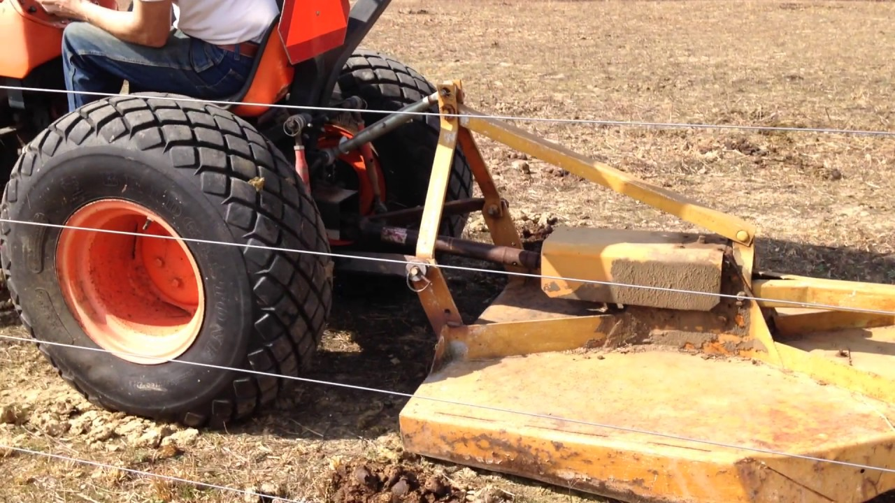 DIY Manure Spreader - YouTube