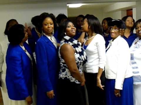 Zeta Phi Beta Florence Alabama Photo Pose Jan 16 2011