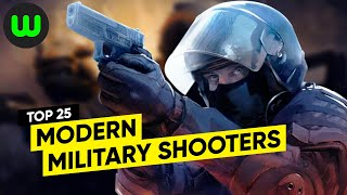 Top 25 PC Military Shooters (2010-2019)