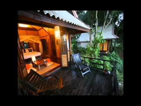Srilanta resort koh lanta youtube for Escape cabins koh lanta