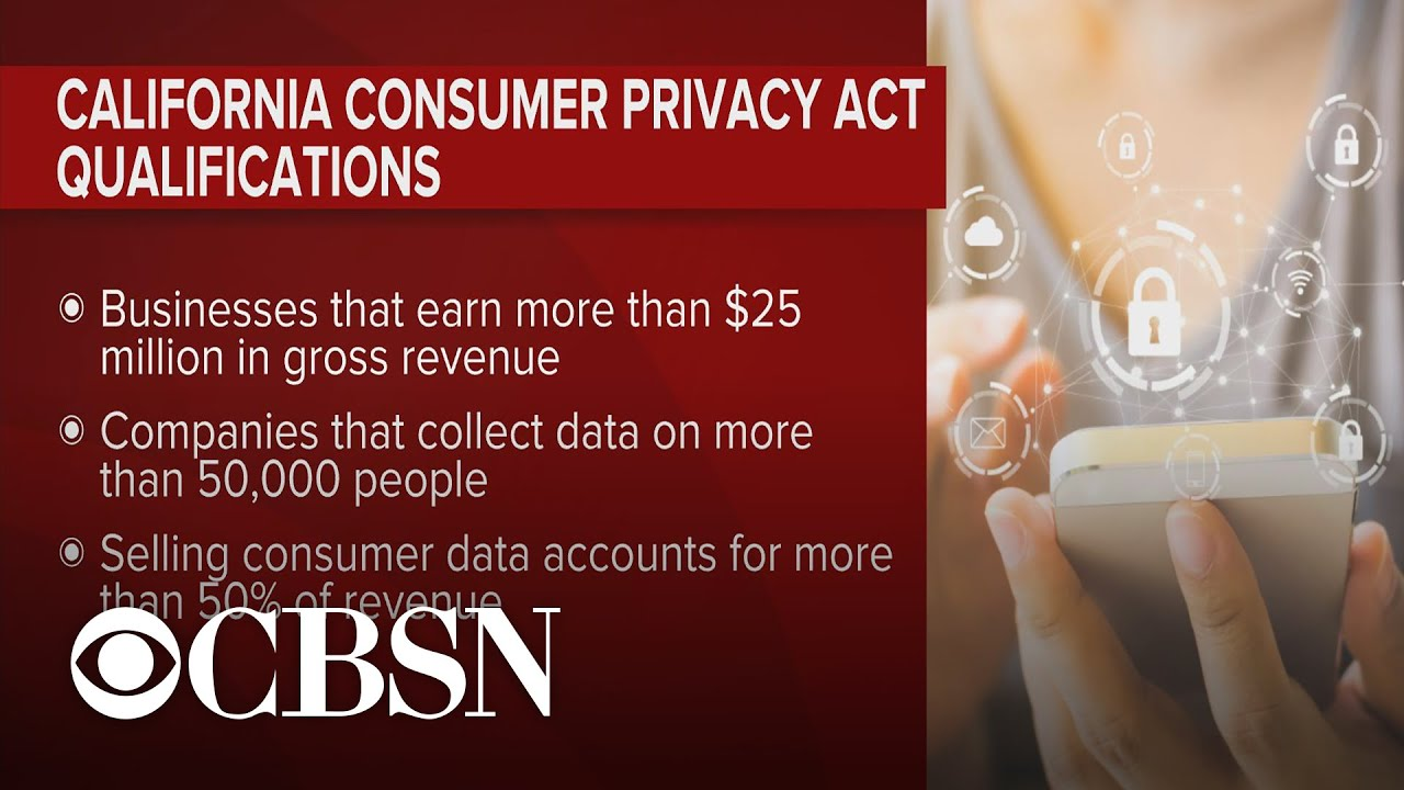 New consumer privacy law takes effect in California