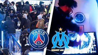 SUPPORTERS PSG VS SUPPORTERS OM : LES PERLES ! #PSGOM