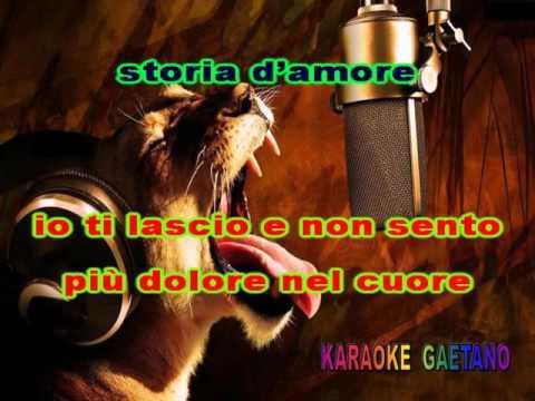 Gianni Nani Una semplice storia d'amore Con voce G Nani Karaoke