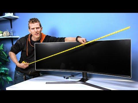 Super Ultra-Wide Monitor – Dank or Dumb?