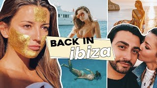 GOLDEN MASKS AND SUNSETS IN IBIZA | ALEXANDRA PEREIRA