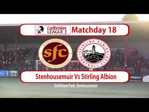 Stenhousemuir Stirling Goals And Highlights