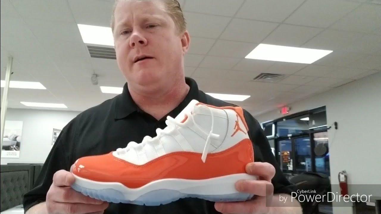 Jordan 11 Trance Orange - YouTube