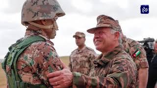 القائد الأعلى يزور واجهة المنطقة العسكرية الشمالية - لواء حرس الحدود - (15-1-2018)