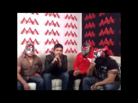 Octagon Octagon Jr Octagoncito - Pt. 2 - Twitcam con Efraín Barrera - Lucha Libre AAA
