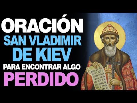🙏 Oración a San Vladimir de Kiev PARA ENCONTRAR ALGO PERDIDO 🙇♀️